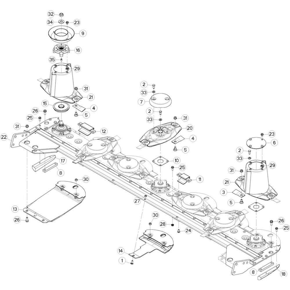 Kuhn Veerring conisch - 80281639 | Aant.001