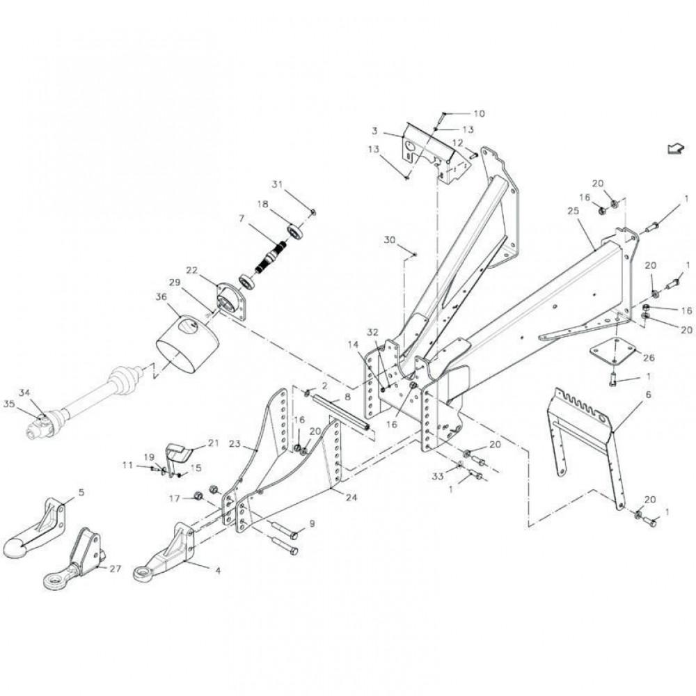 Seegerring Kuhn - 80599000 | 90x3, Aant.1