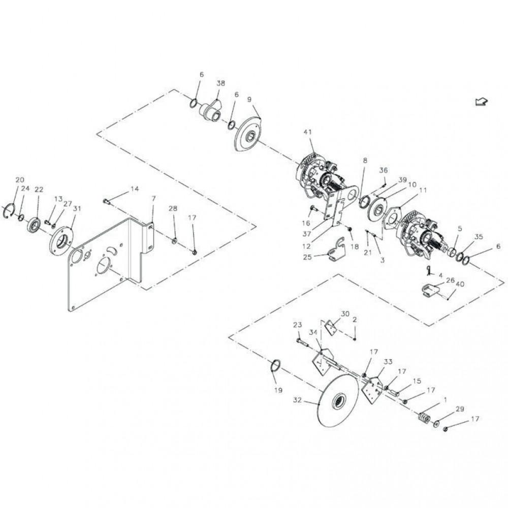 Kogellager Kuhn - 81004082 | Aant.2