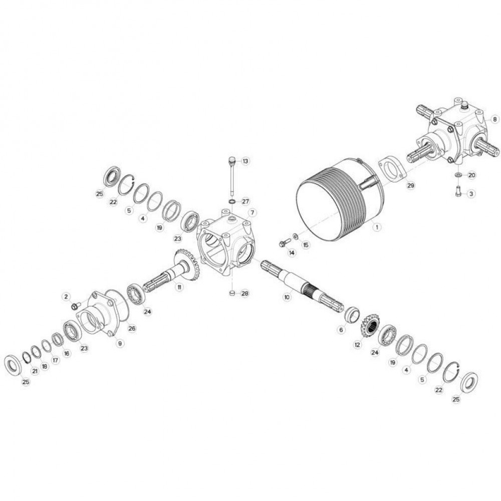 Oliekeerring Kuhn - 82014081 | Aant.3