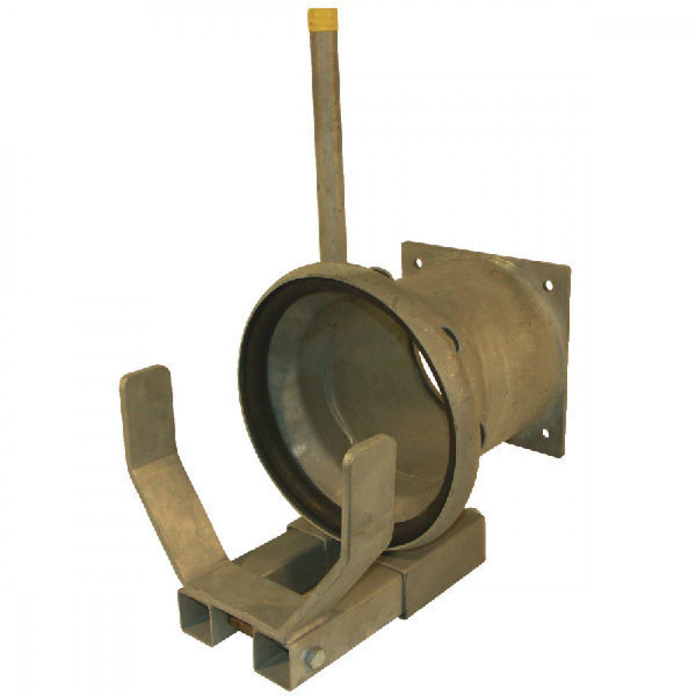 "KKM 8"" snelkopp. + flens - 8205555Z | Inclusief o-ring | 235 mm | 8 Inch | 8 Inch"