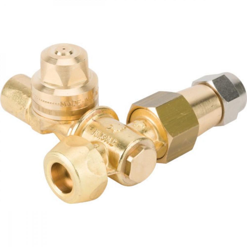 Braglia Verspuitnozzle 58 AM-R komple - 826172020   2x Ø15   1/4 BSP Inch