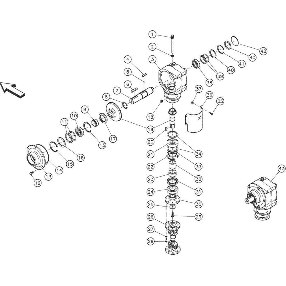Kuhn Elastische kap - 83040002   Aant.1