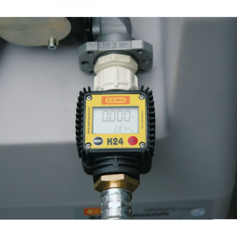 Cemo Flowmeter K24 DT-Mobil >430L - 8908CEMO | CE-conform | <40 l/min