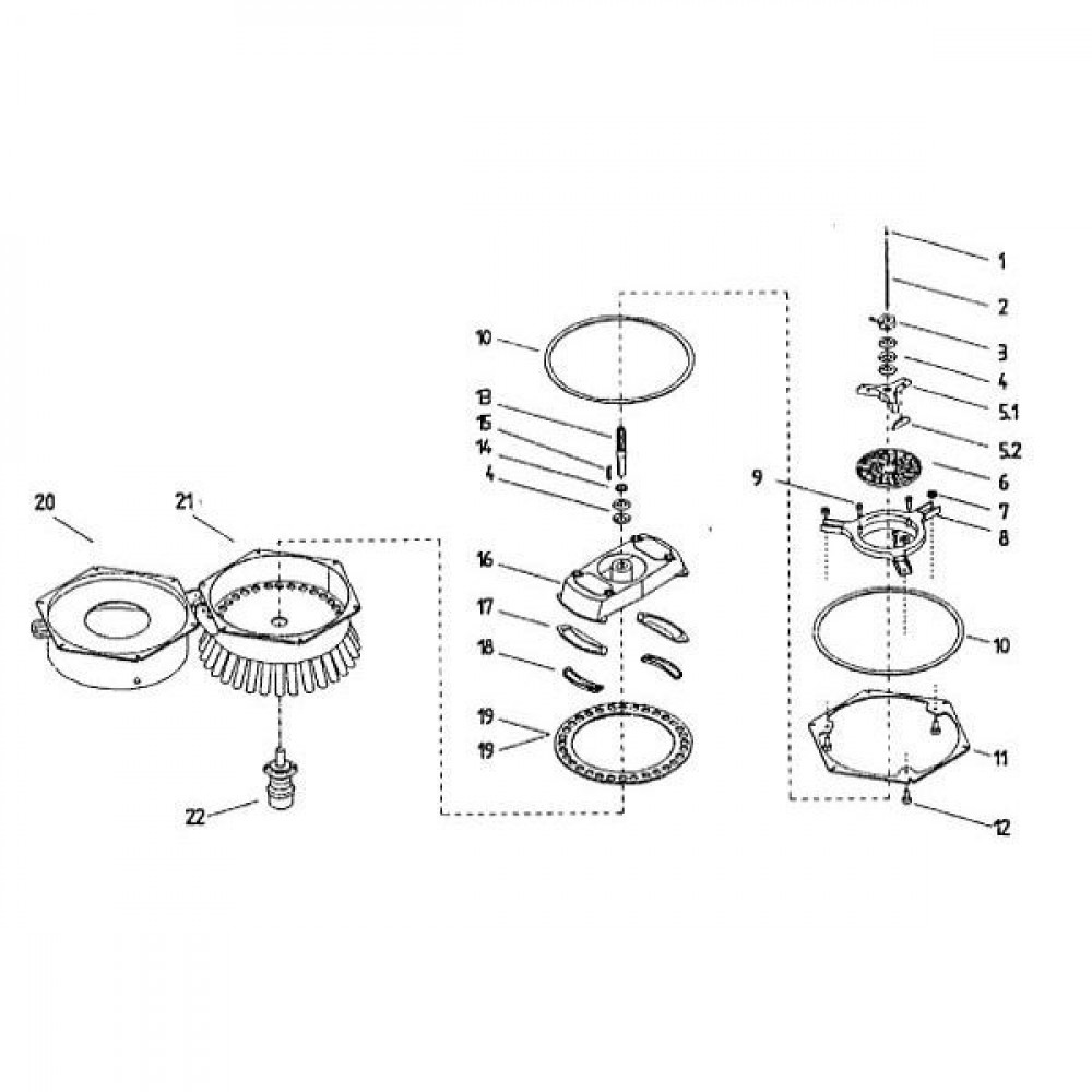 Tapbout M10x30 8.8 verz. - 9331030 | M10x1,5 | 17 / 16 mm | 6,4 mm | ISO 4017 | Verzinkt | 2,62 kg/100 | Metrisch | DIN 933