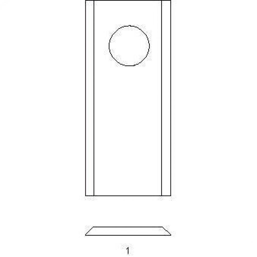 Cyclomesje Kemper - 93Y03KR | 93.Y.03 | 16,5 mm | 125 mm