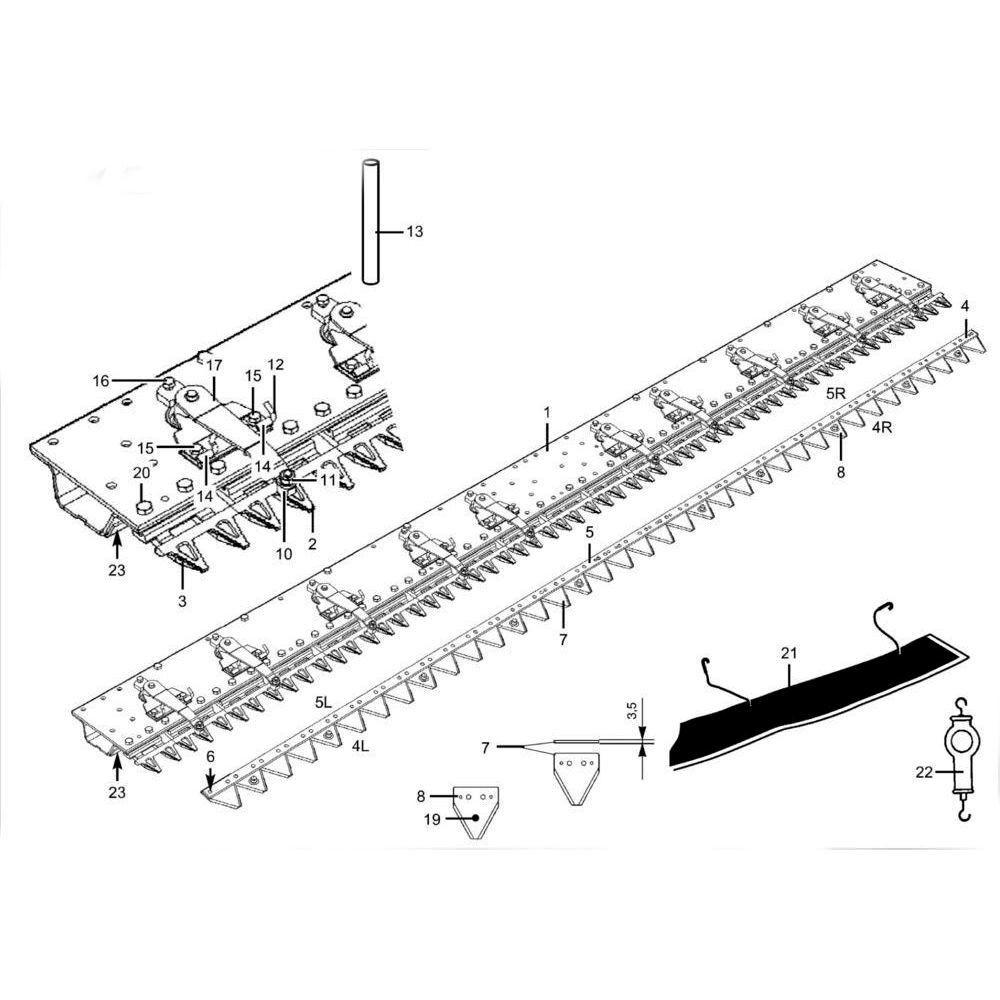 Vinger MX/MR driedelig Herder - 95721016