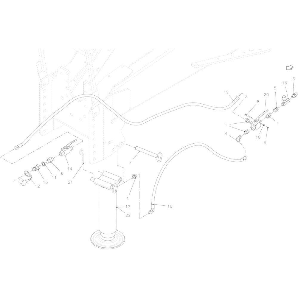 Kuhn Inschroefconnector - A4080401 | Aant.4