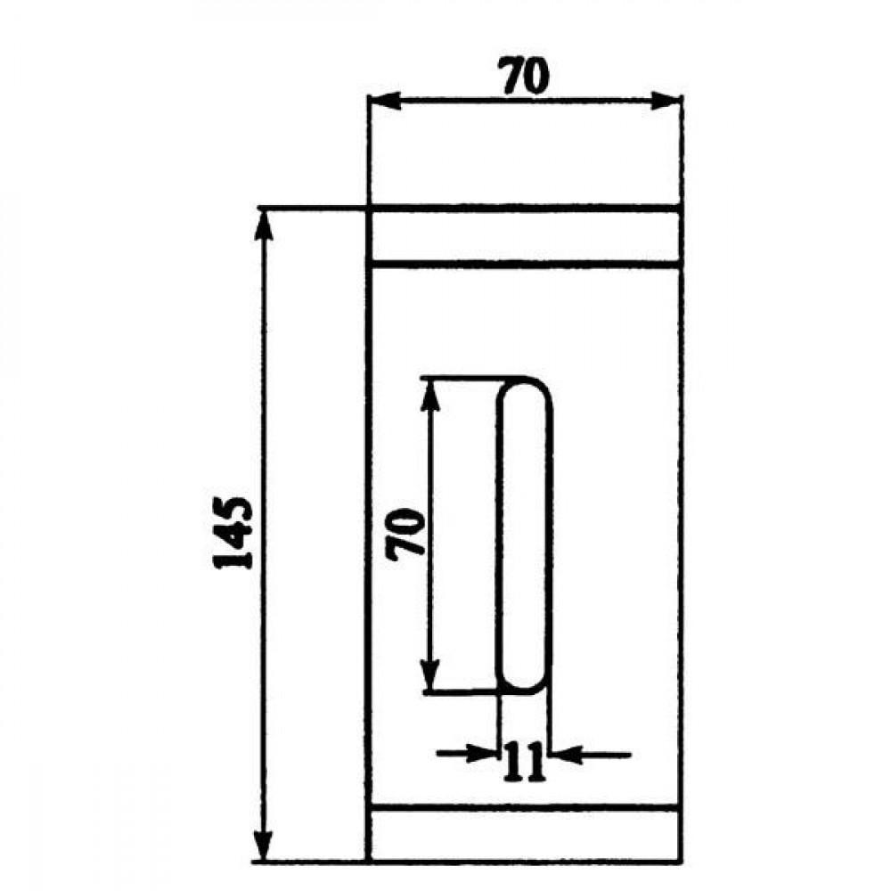 Afstrijker Niemeyer - AB100002 | 034.218 | 145 mm