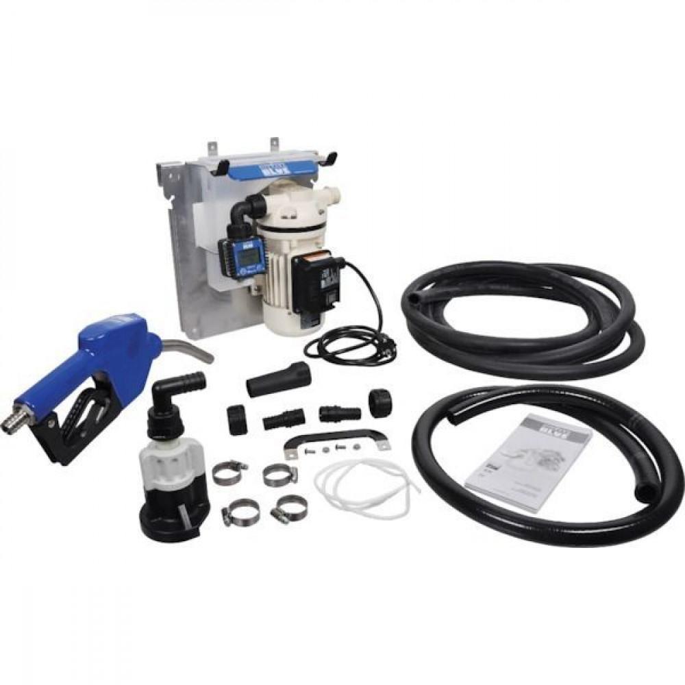 Piusi AdBlue®-IBC-pompset PRO met automatisch tankpistool en literteller - F00201B1A | 230 V | 32 ltr/min | 3/4 inch | 3/4 inch | 480 x 370 x 265 mm | 16 kg | 50 Hz