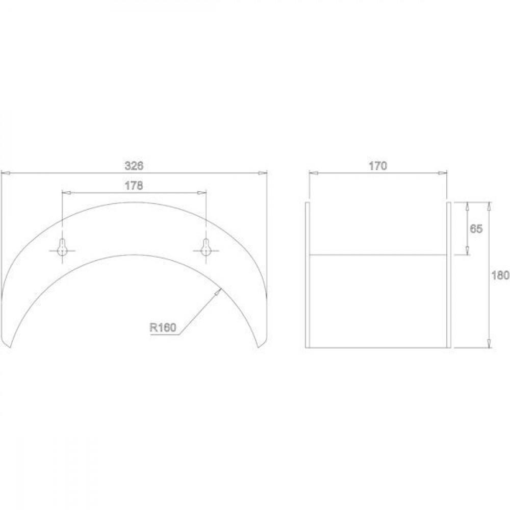 ALBA-Krapf Wandslanghouder BIG - AKS11369 | 1,4 kg