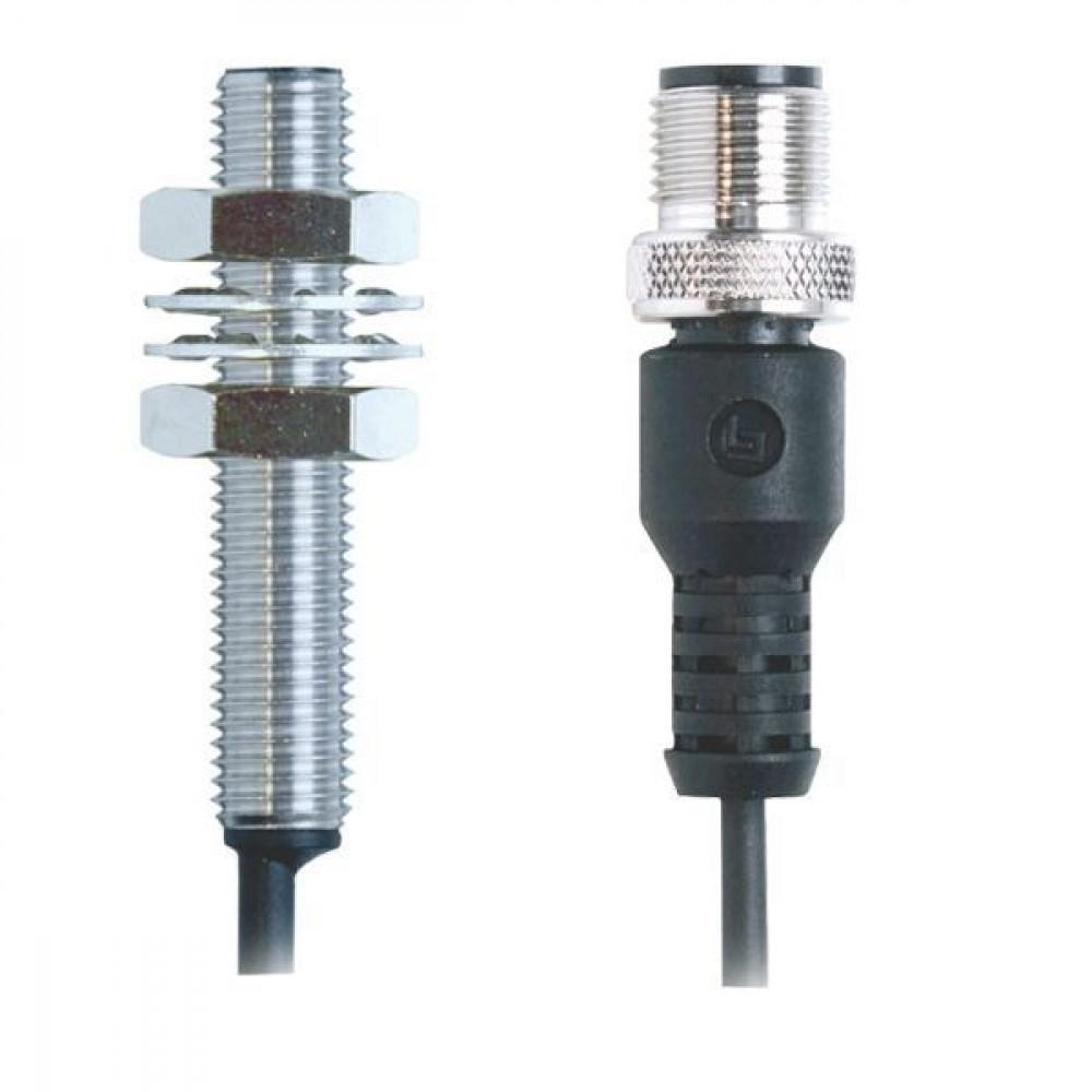 Balluff Benaderingsschakelaar inductie - BESM08MGGSC20BBP003G | IP67 / IP68 | -25 … 70°C °C | Afgeschermd | 10…30V DC | 1500 Hz | No M/V | M12 Connector Kabel / Connector | 100 mA | 0,3 m