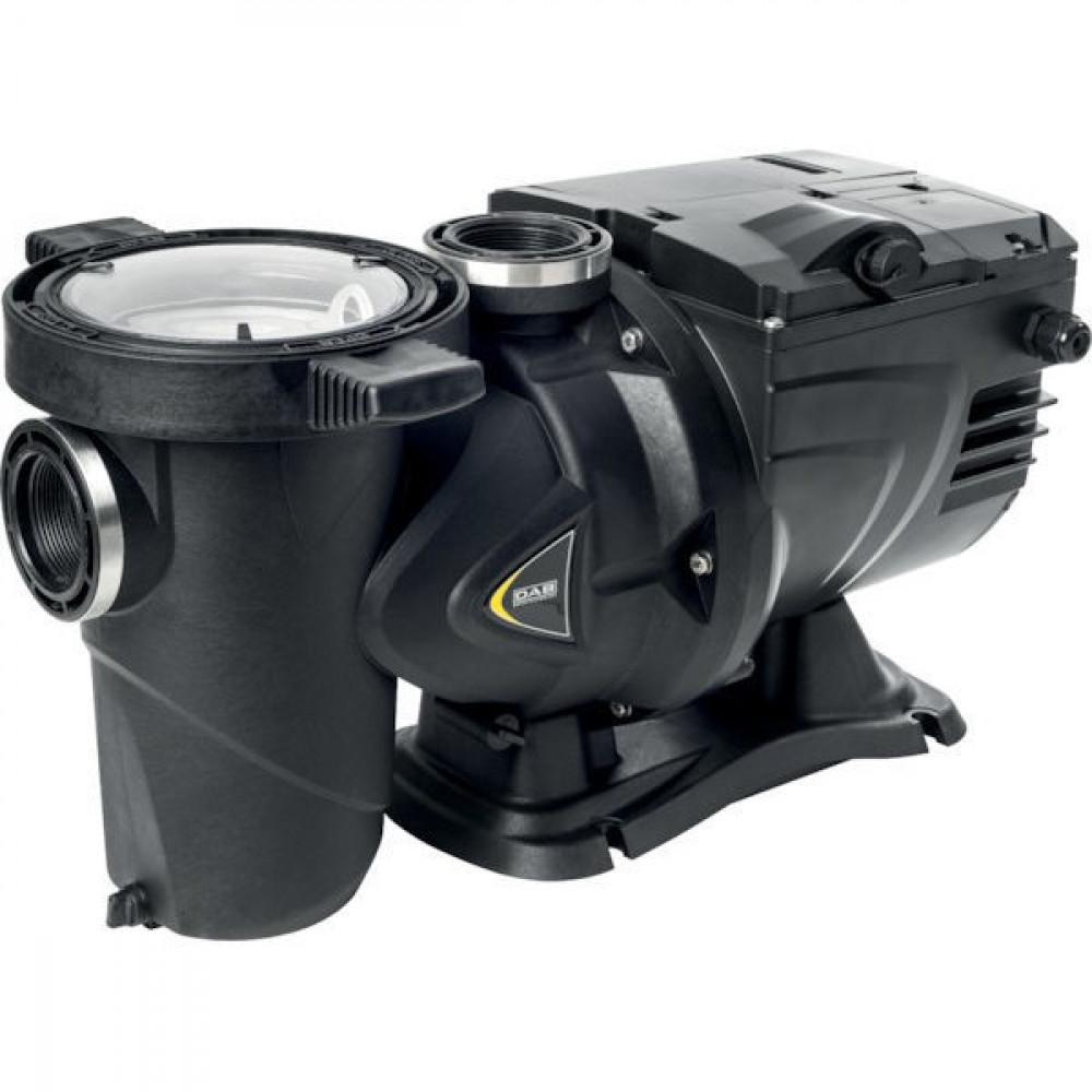 "DAB Pumps Centr.pomp E.swim 150 - DAB60172658 | 6,5 <> 8,4 | < 40 °C | <50 °C | 500 l/min | 30 m³/h | 25 bar | 4.500 Rpm | 2"" Inch | 2"" Inch | 550 mm | 300 mm | 245 mm | 259 mm | 266 mm | 220 mm | 150 mm | 316 mm | 217 mm | 309 mm"