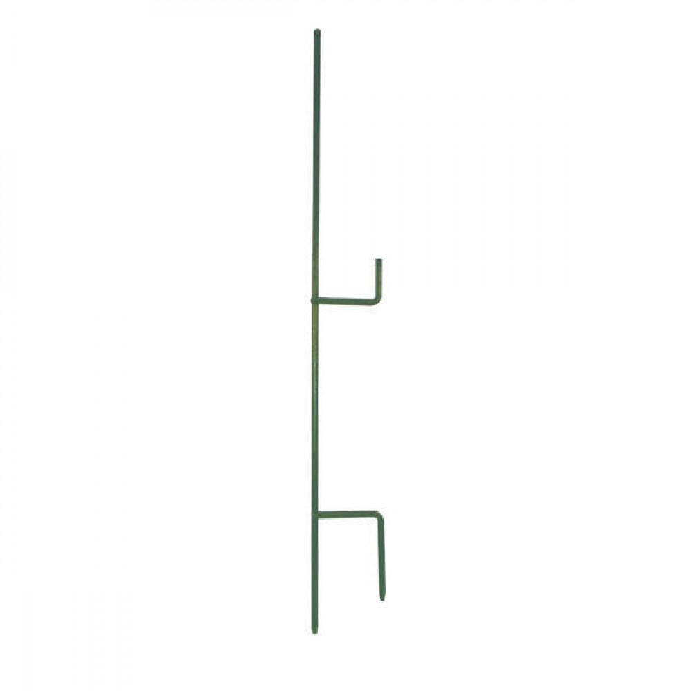 Metaal paal 1,5 mtr voor 2 isol. - EF701152   150 cm