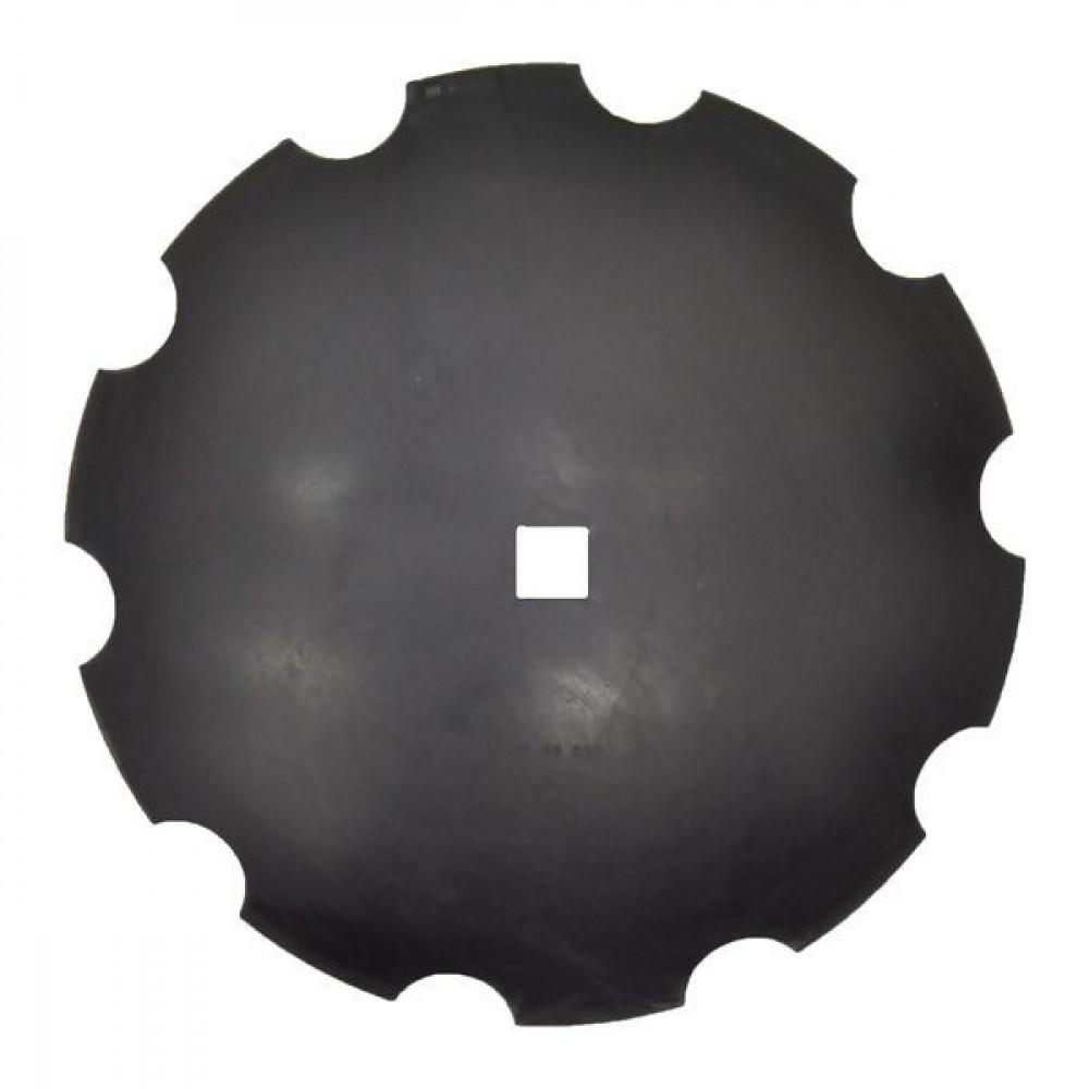 Forges de Niaux Eggenschijf getand 660x7/41 - HDF488869   660 mm   7 mm   41 x 41