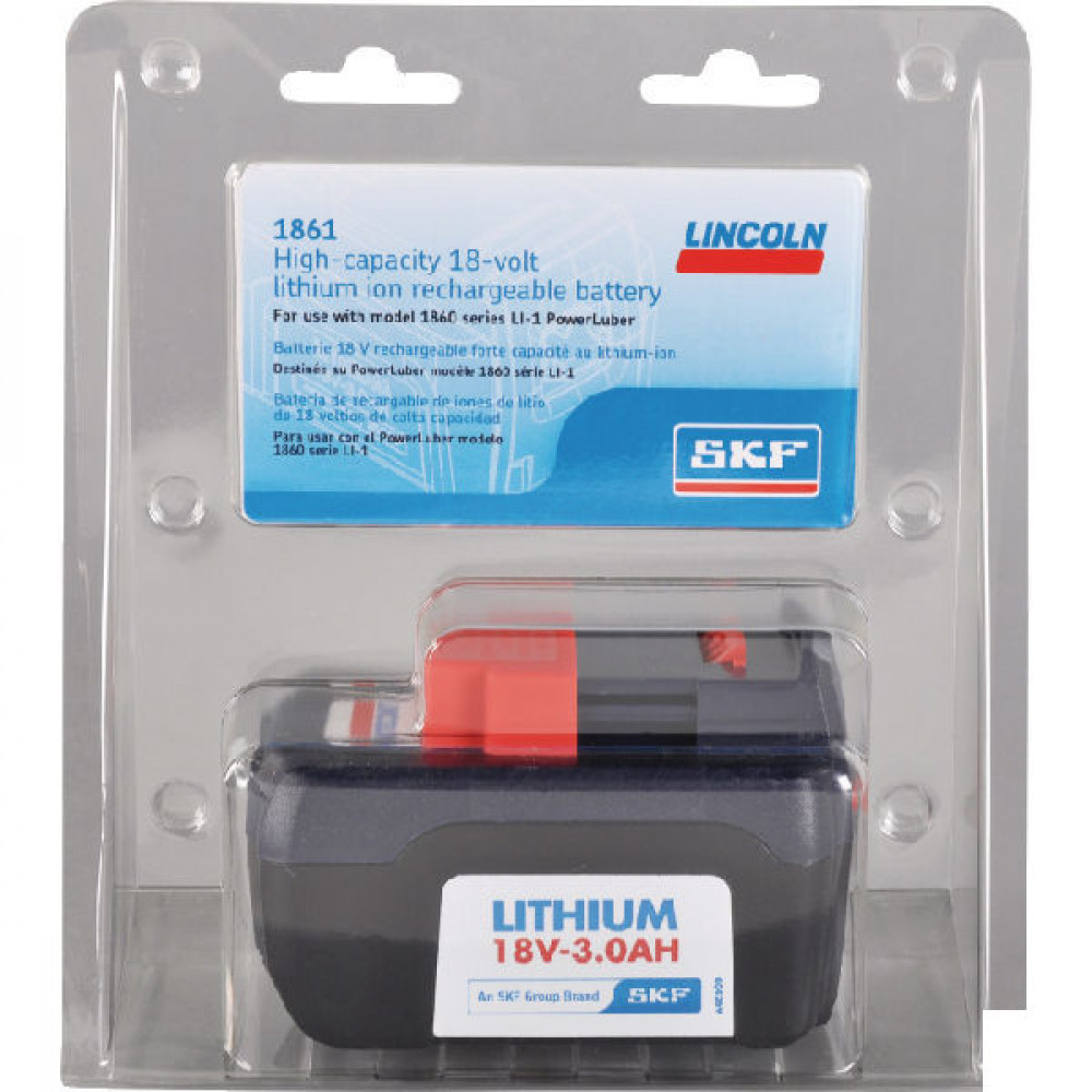 Lincoln Electric Batterij 18V voor FP1862E - FP1861 | Voor de accu vetspuit 18V