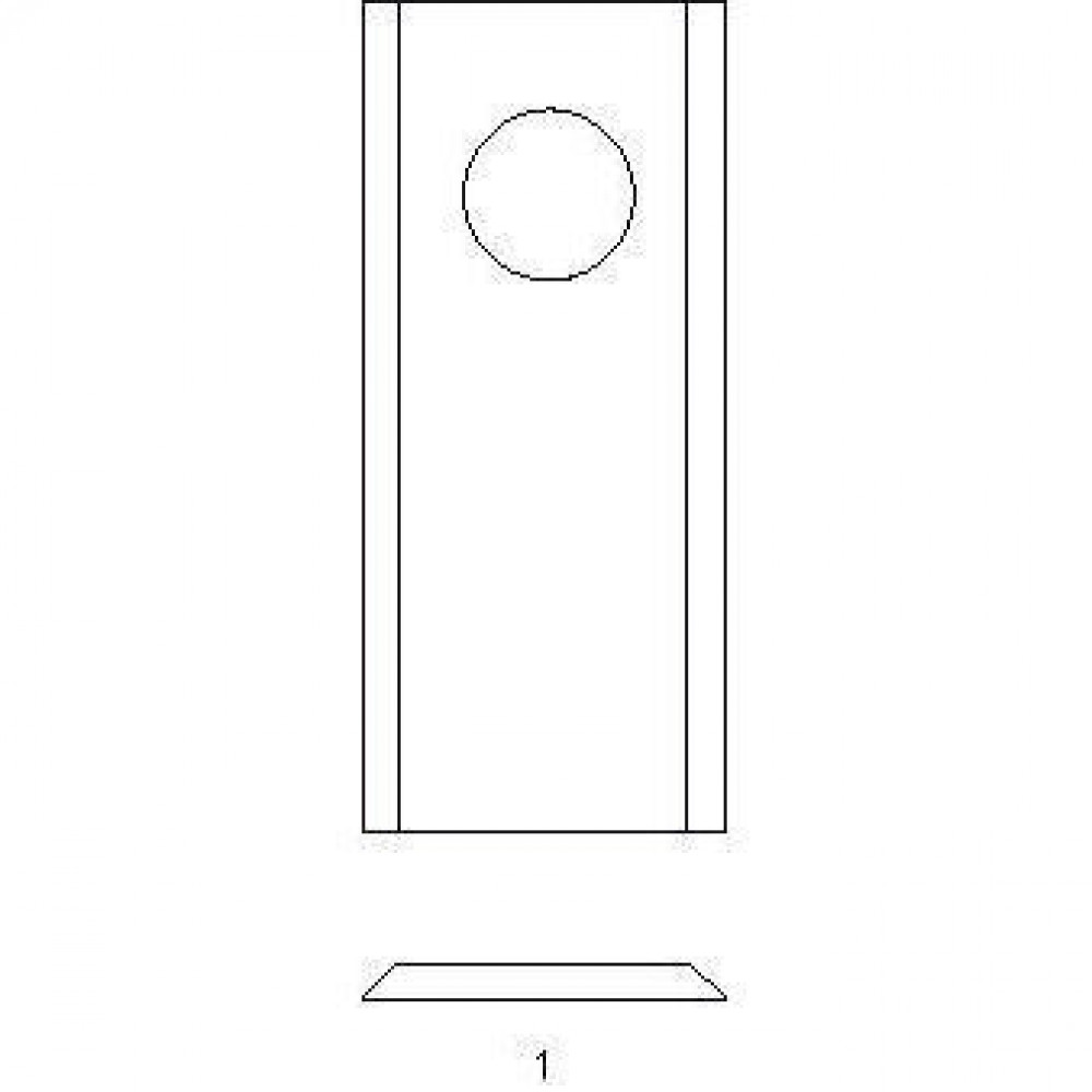 Cyclomesje Garnier - FR152327KR | FR152.327 | 18,25 mm | 117 mm | 4,3 mm