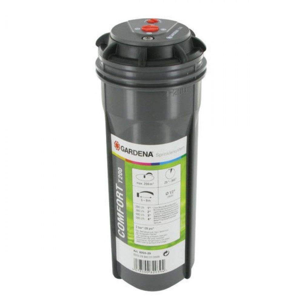 Gardena Verzonken turbinesproeier T200 - GA8203