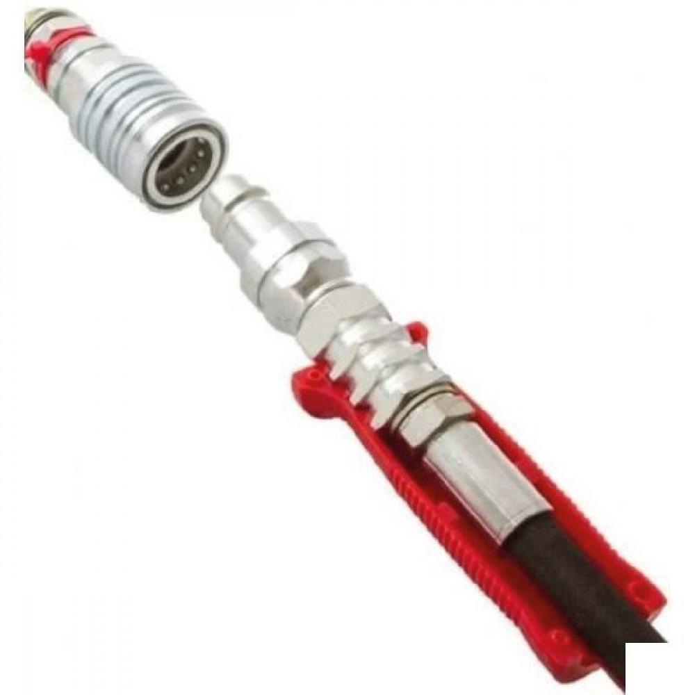Handgreepkit met kleuridentificatie voor hydraulische koppelingen   300 bar   100 °C