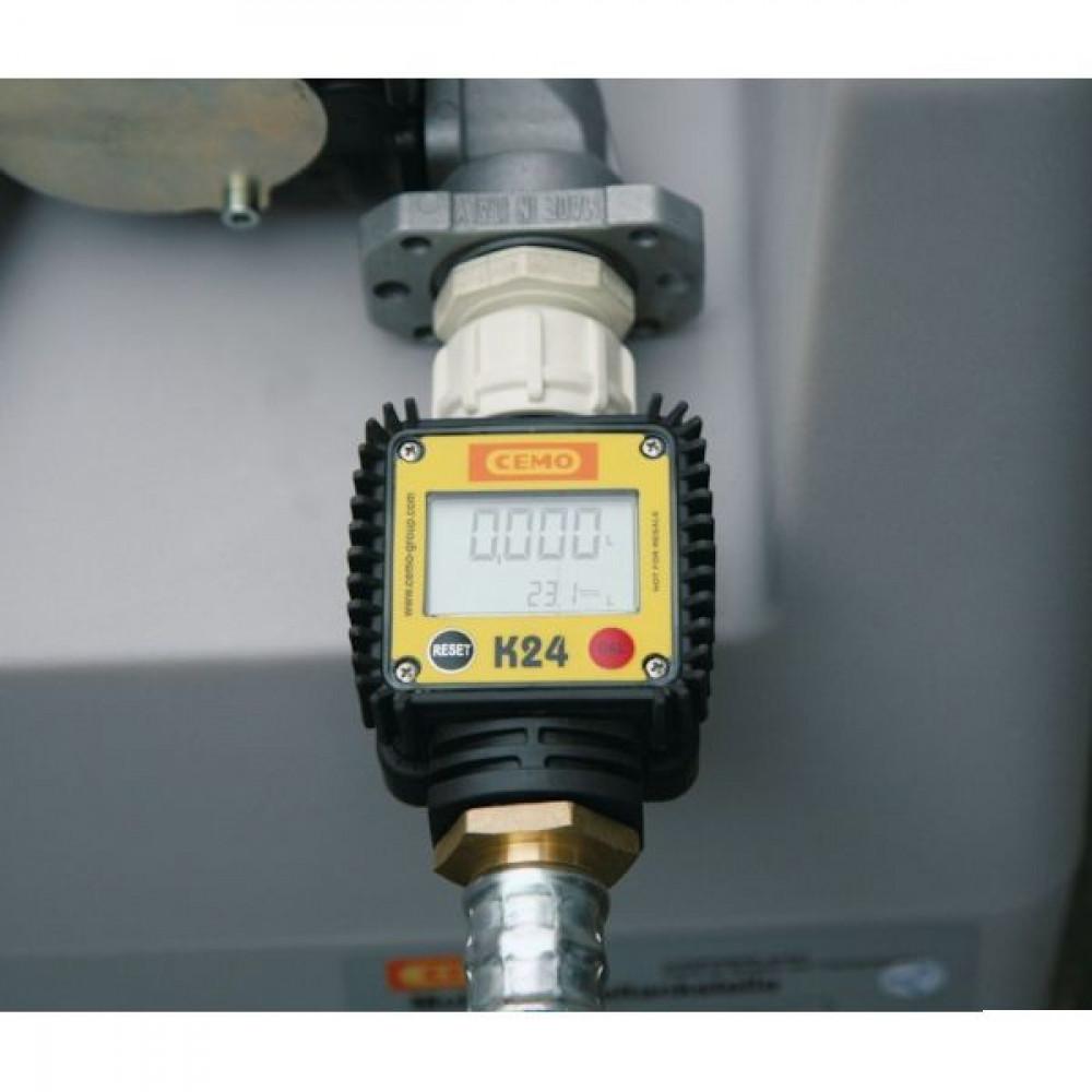 Digitale brandstofmeter K24 | CE-conform