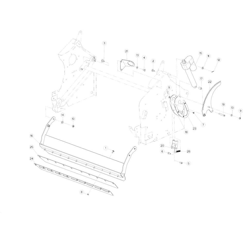 31 Netwikkelset aandrijving passend voor KUHN VB2260