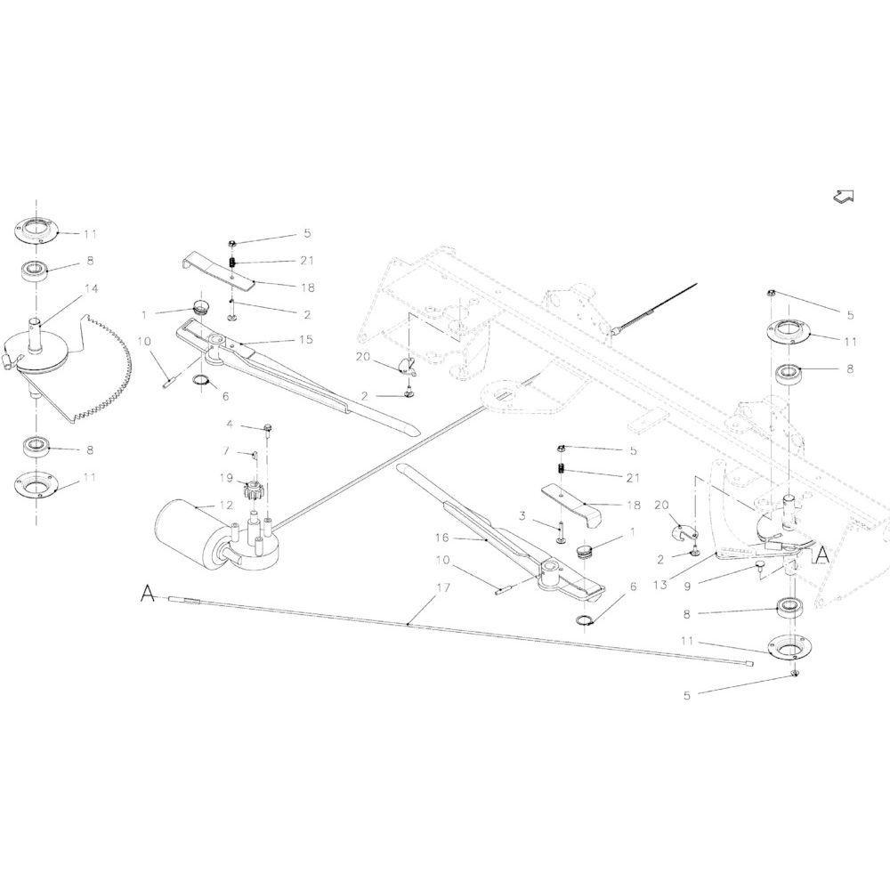 34 Touwbindsysteem passend voor KUHN VB2260