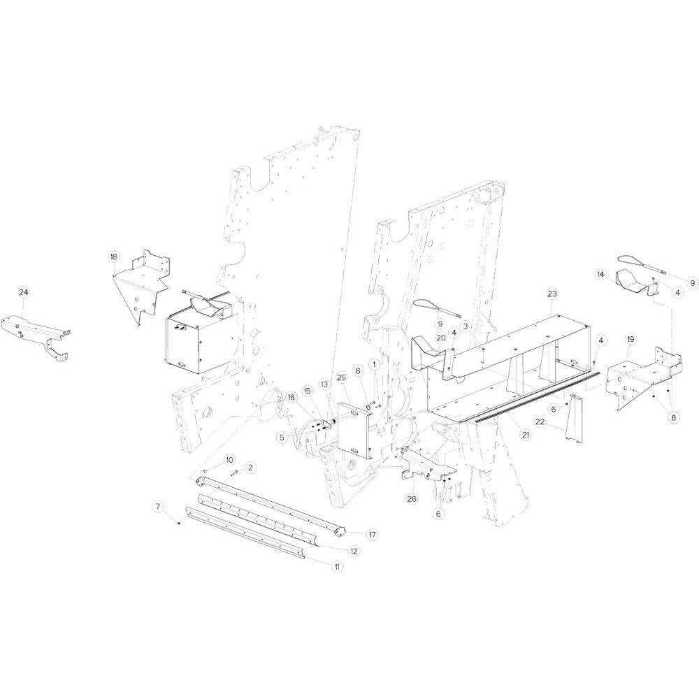 35 Touwbindsysteem passend voor KUHN VB2260