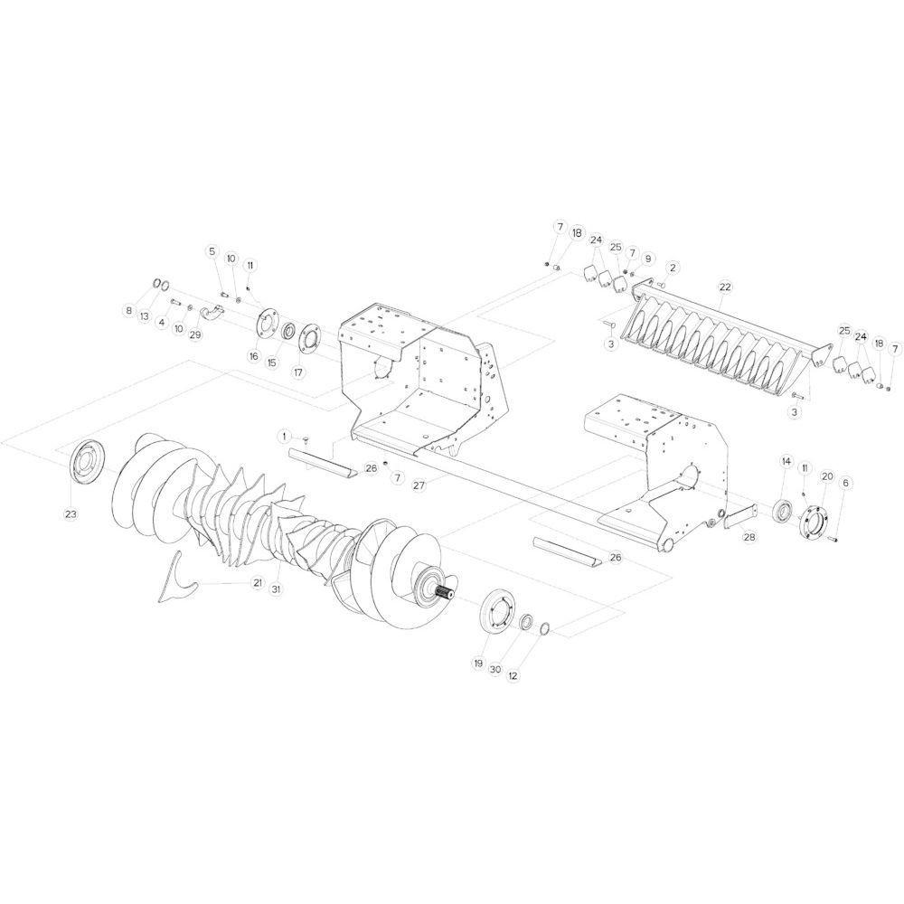 49 Opraper passend voor KUHN VB2260