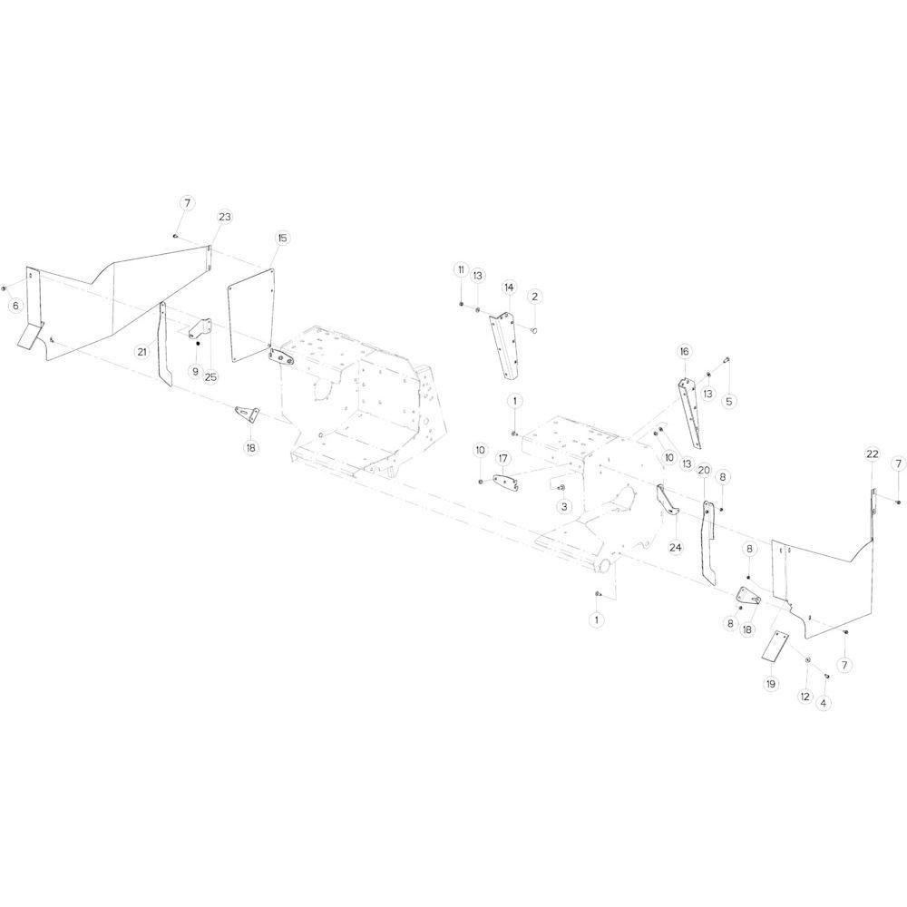 56 Kettingspanner R+Oc passend voor KUHN VB2260