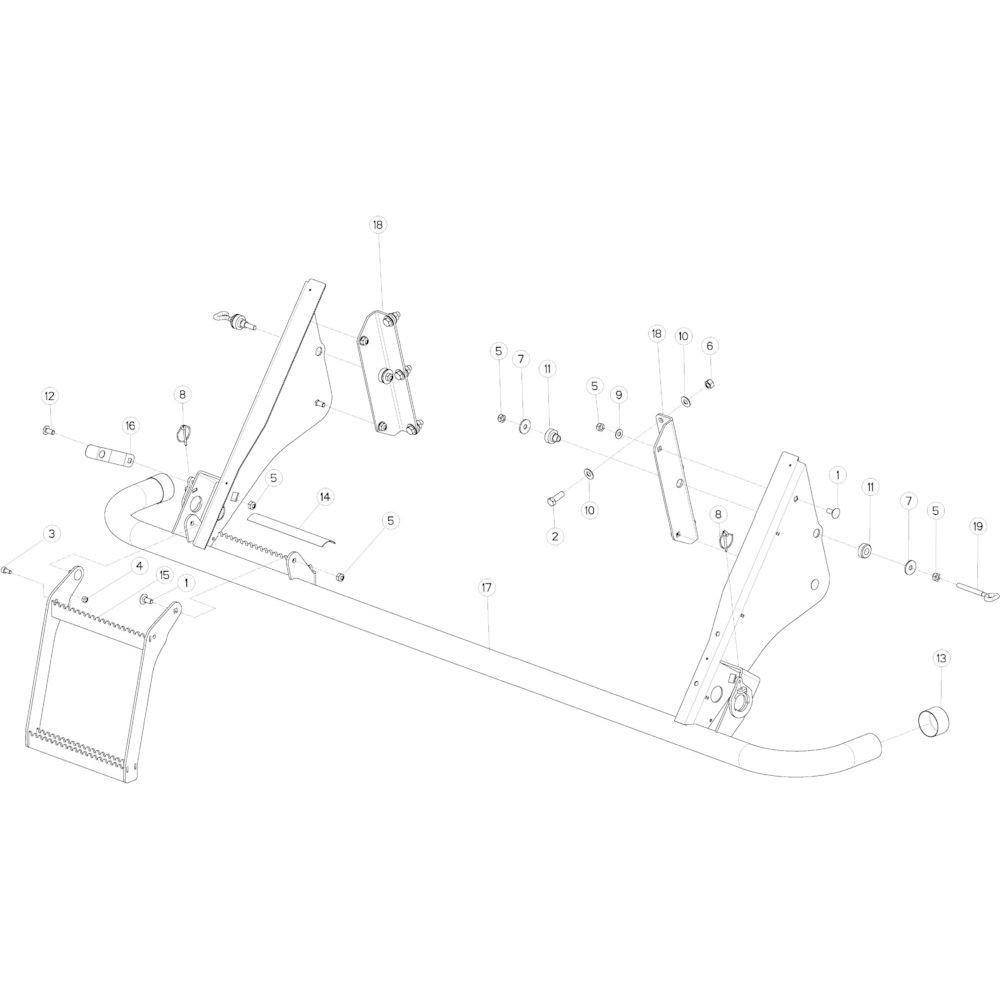 60 Hydraulisch 14-Oc passend voor KUHN VB2260