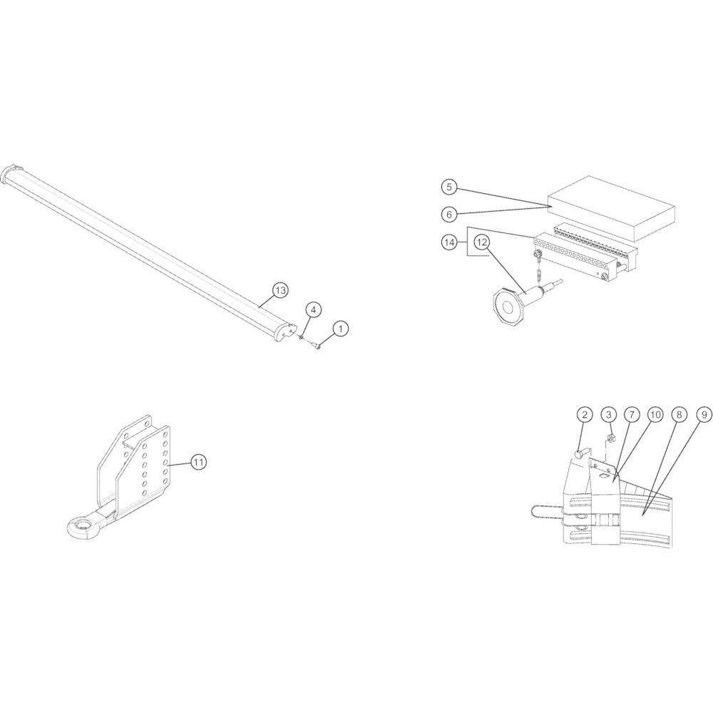 81 Lage-dichtheidsset net passend voor KUHN VB2260