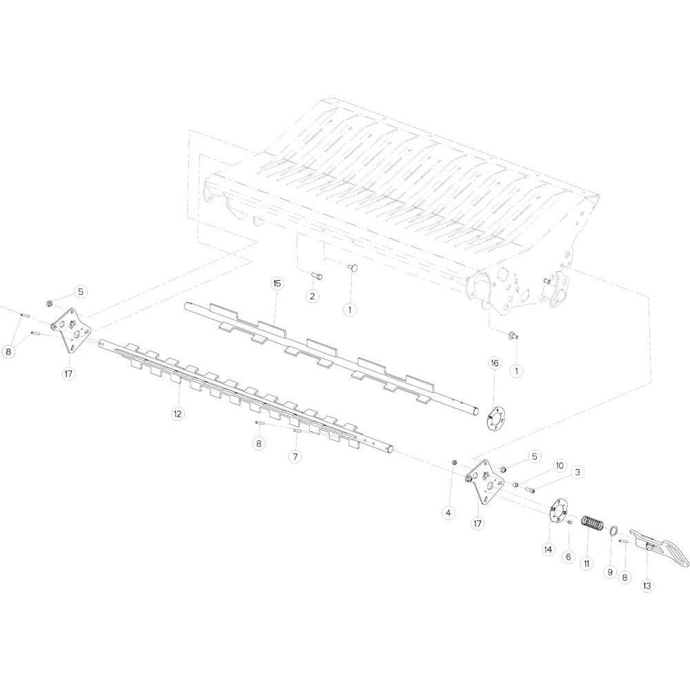 52 Keuzeschakelaar 14-Oc/23-Oc passend voor KUHN VB 2265