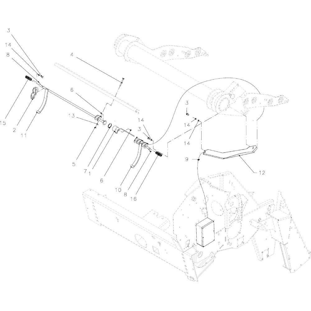 26 Baalvormindicator passend voor KUHN VB2285