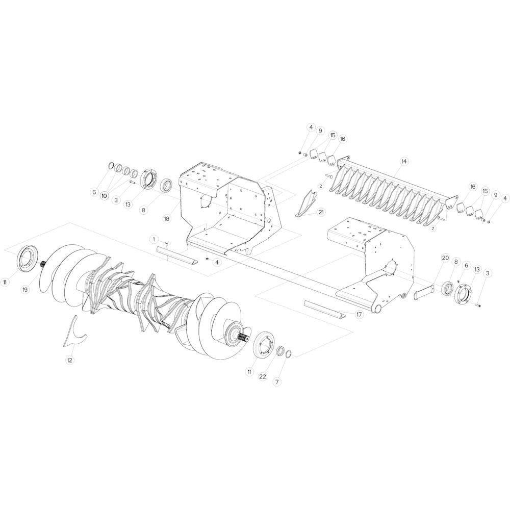 50 Rotor 14-Oc passend voor KUHN VB2285