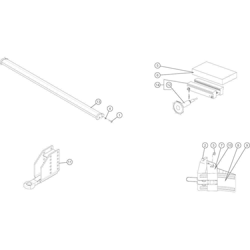 80 Uitrusting passend voor KUHN VB2285