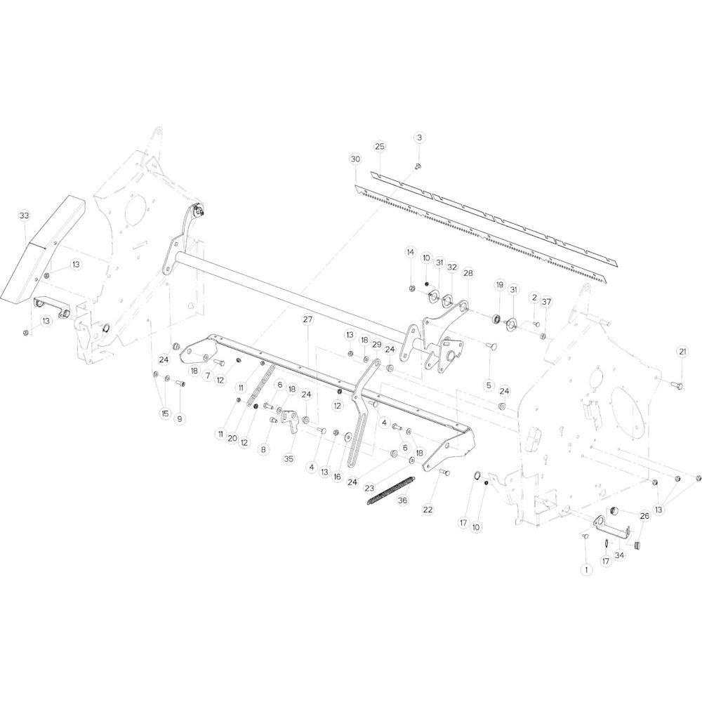 30 Geleiding passend voor KUHN VB2285