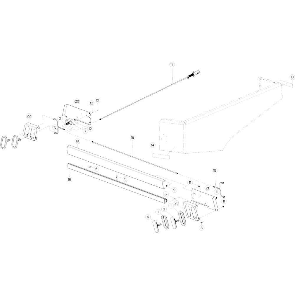 61 Verlichting VS passend voor KUHN VB2285