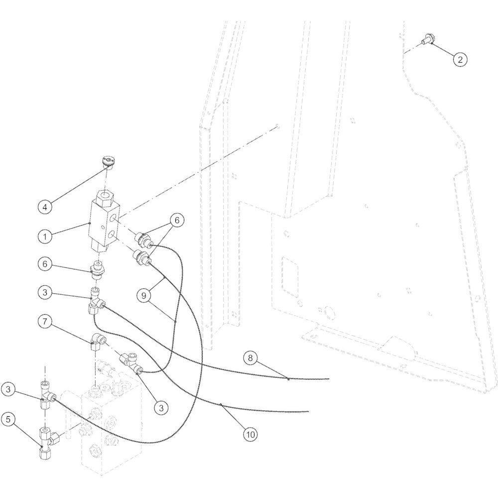 76 Lage-dichtheidsset touw passend voor KUHN VB2285