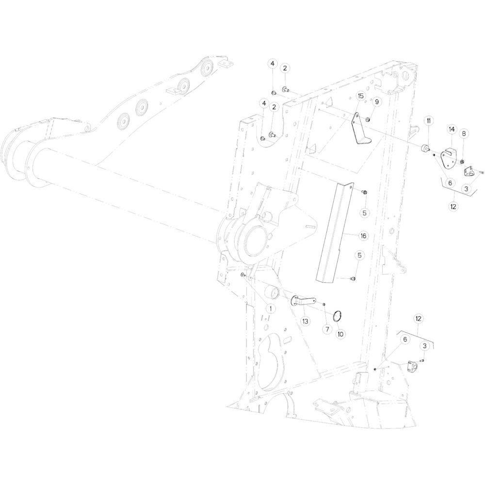 25 Steun sensor passend voor KUHN VB2285