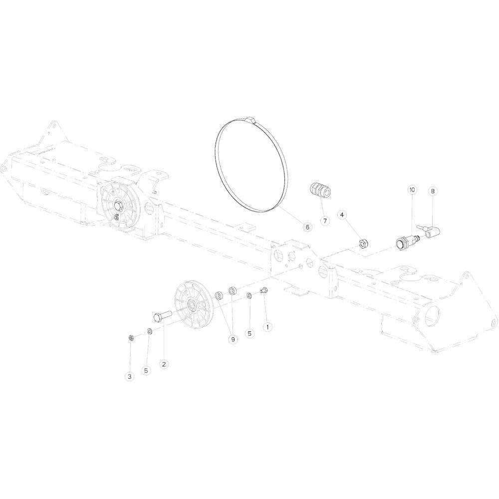 90 Touwindicator passend voor KUHN VB2285