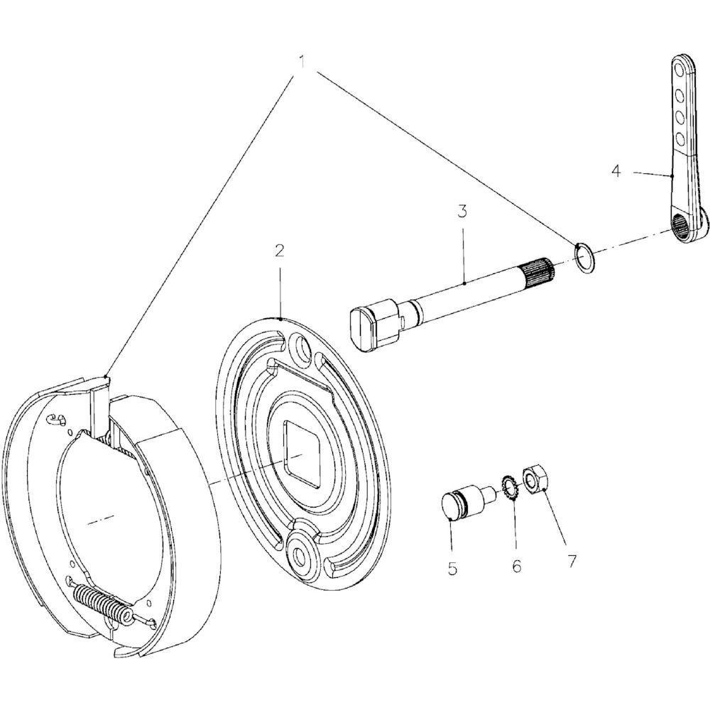 08 Remmen passend voor KUHN VB2285
