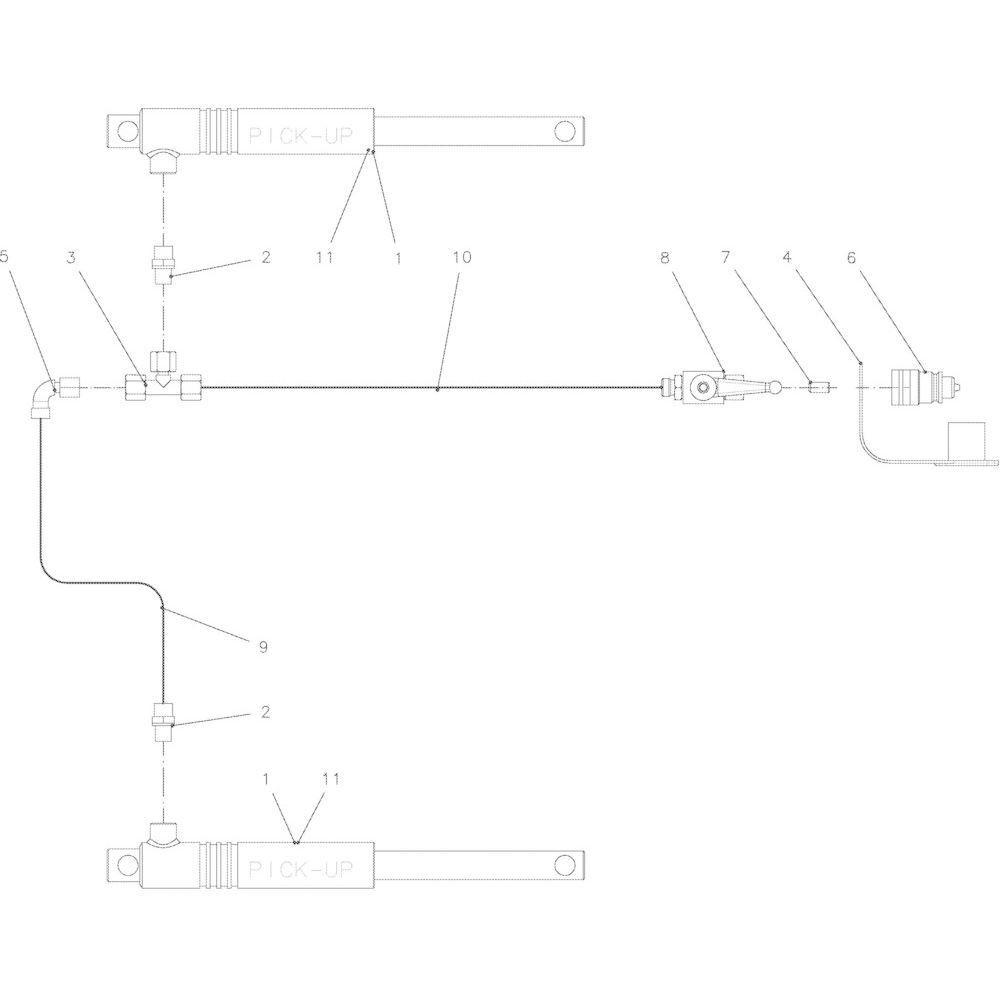 55 Hydraulische opraper passend voor KUHN VB2285