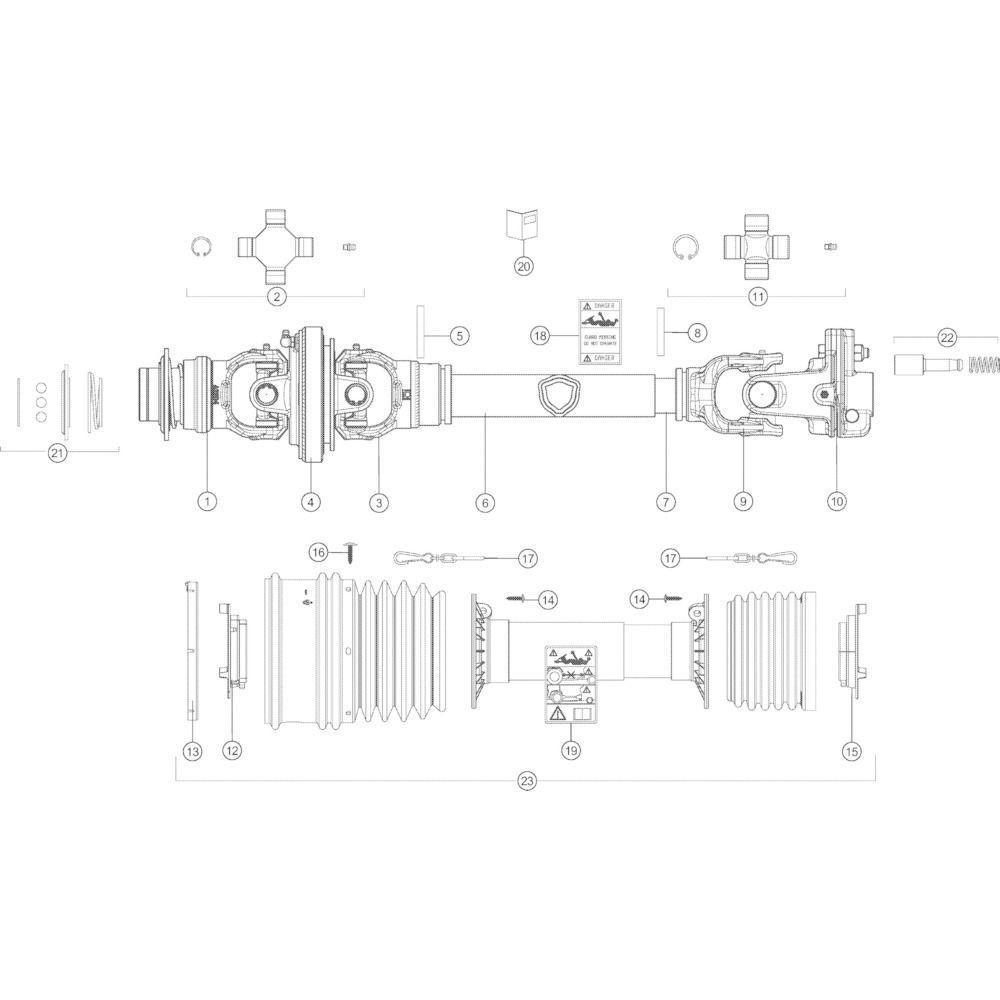63 Transmissie Autoplus passend voor KUHN VB2285
