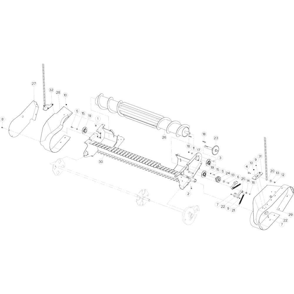 40 Opraper Optiflow passend voor KUHN VB 2290