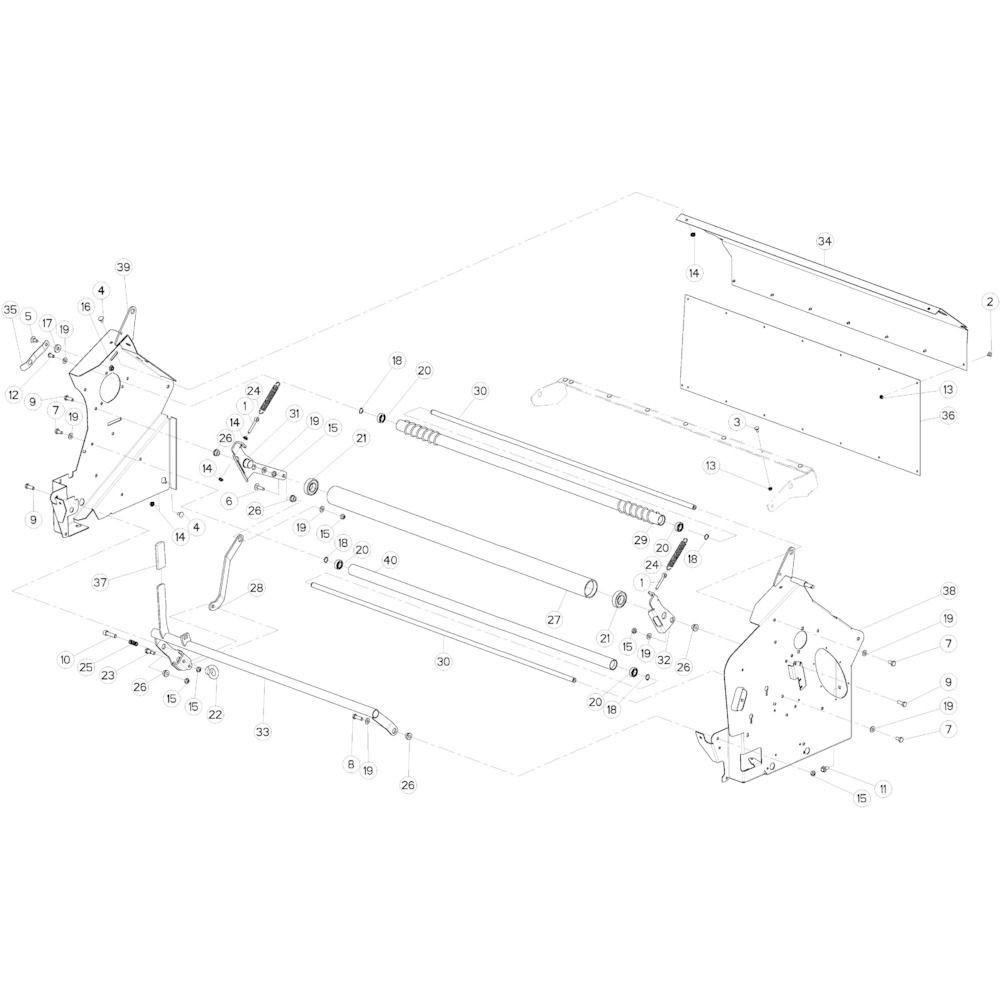 29 Netwikkelset passend voor KUHN VB 2290