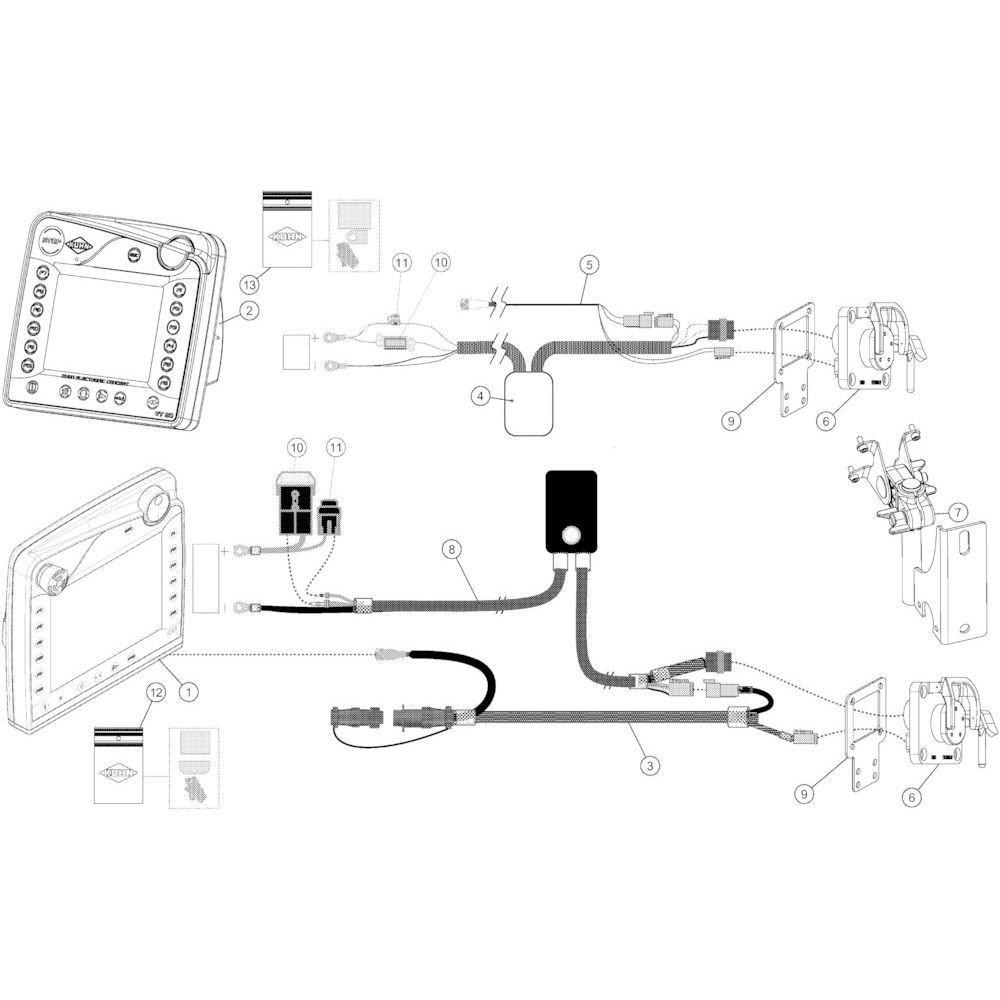 28 Besturingsbox Cci/Vt50 passend voor KUHN VB 2295