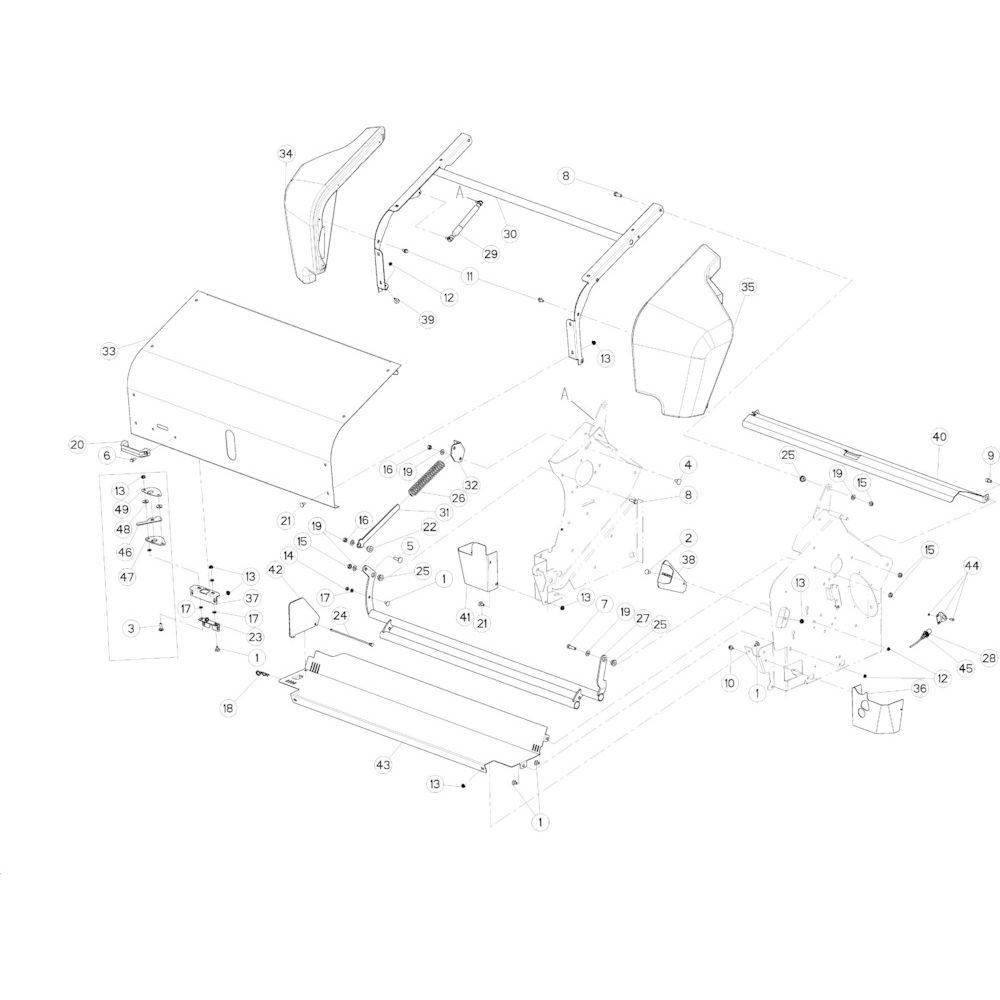 33 Netwikkelset passend voor KUHN VB 2295