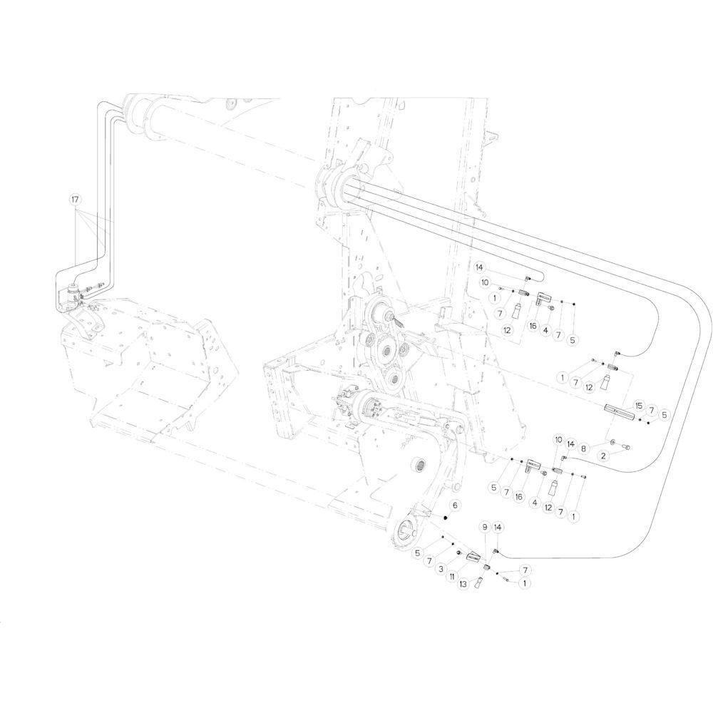 27 Smeersysteem passend voor KUHN VB 2295