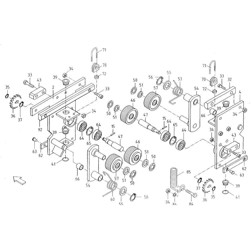 30 Touwbindsysteem passend voor KUHN FB119