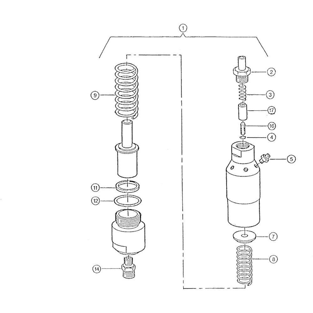 17 Olie motor passend voor KUHN FB119